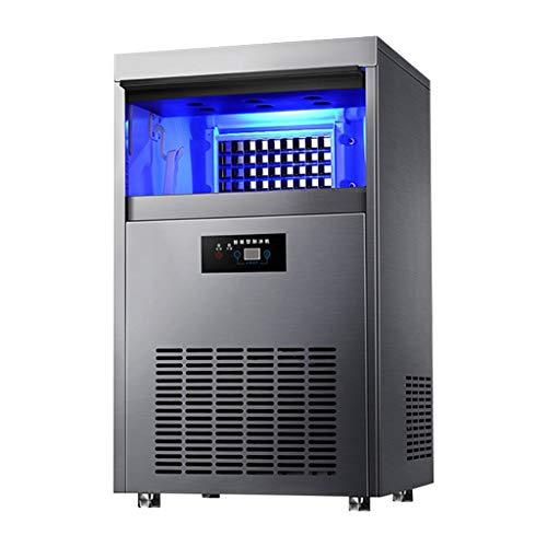 WHJ-Ice maker Freistehende Gewerbliche Eismaschinewohnungen Und BüRos , 80kg Gewerbliche Eismaschine Teestube GroßE Und Kleine Bar Kaffeestube