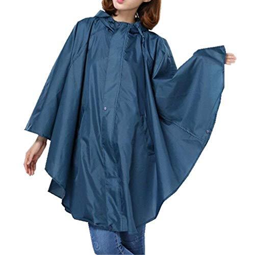 HX fashion Tragbarer Frauen Mit Kapuze Regenmantel Wasserdichte Regenkleidung Classic Breathable Ultralight Regen Poncho Wind Mantel Im Freien Regen Gang Regenjacken Kleidung