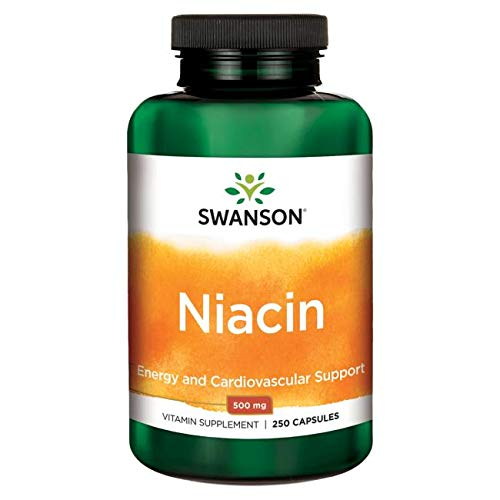Niacin (Vitamin B3) 500 mg, 250 caps