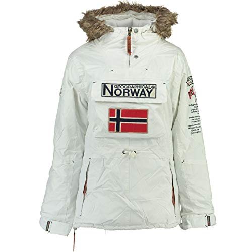 Geographical Norway Parka BOOMERA niña BLANCO talla 12