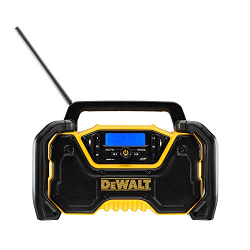 DeWalt DCR029 - Radio compacta (batería y red, con cable de alimentación de 2 m)