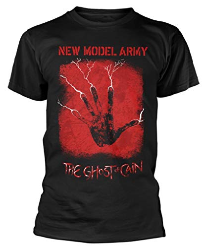 New Model Army 'The Ghost of Cain' (Black) T-Shirt (small)