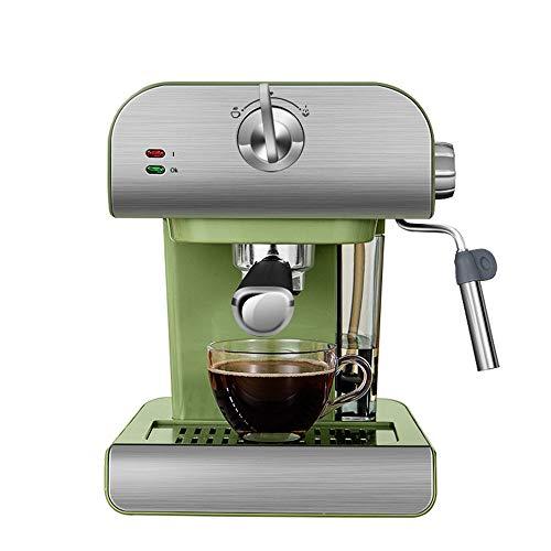 Retro-Style Espresso Machine, kleine huishoudelijke, Semi-automatische Pull-Out Steam Koffiezetapparaat, melkopschuimer, gemakkelijk schoon te maken, Voorverhitte warme kop ontwerp