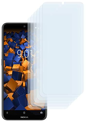 mumbi Schutzfolie kompatibel mit Nokia 7.2 Folie klar, Bildschirmschutzfolie (6X)