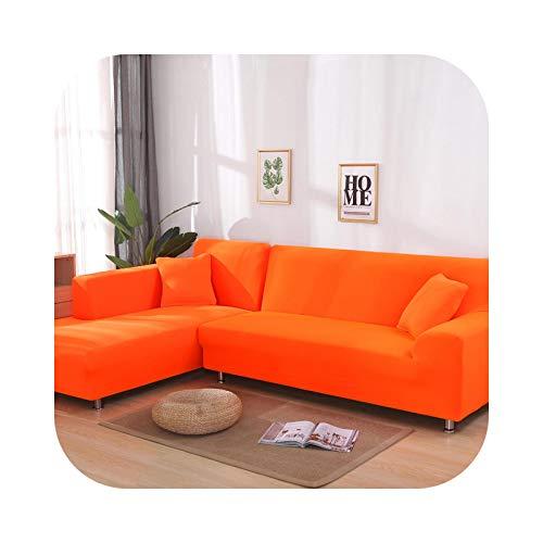 Sofabezug, elastisch, einfarbig, Sofaüberwurf, dehnbar, 13-2 Seater und 4 Seater
