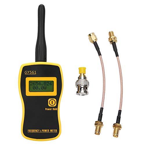 Ladieshow Misuratore di frequenza Misuratore di Potenza Digitale RF e contatore di frequenza per Radio bidirezionale con Cavo SMA-F