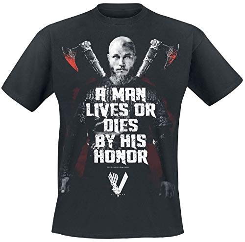 Vikings Honor Camiseta Negro L