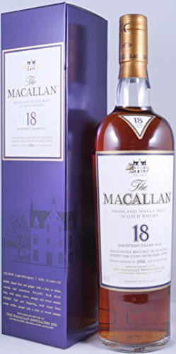 Macallan 1996 18 Years Sherry Oak Single Malt Scotch Whisky Originalabfüllung