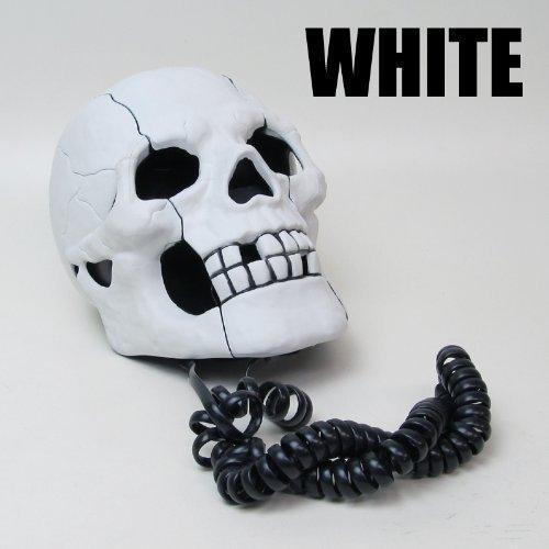 Basic telephone interesting FJK (Skull) White (japan import)