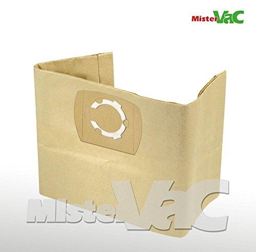 10x Staubsaugerbeutel geeignet Masko Industriestaubsauger, K 606DW