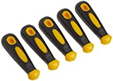 Woodstock D3110 Rubber File Handle, Round Hole, 5-Piece