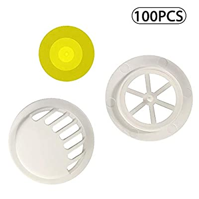 ?100PCS?Anti Pollution Face Cover Mouth Filter Valves Air Breathing Filter Handmade DIY Accessories for Mask - Face Cover Valves Breathing Activated Carbon Dustproof Windproof Foggy Haze Filter from JingXiGuoJi