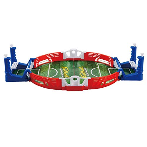 Floridivy Mini Voetbal tafelvoetbalspel Toys Board Training Ejection Double Fighting Power Shot Skills Indoor Toys