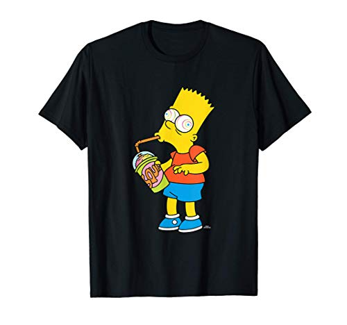 The Simpsons Bart Simpson Squishee Brain Freeze T-Shirt