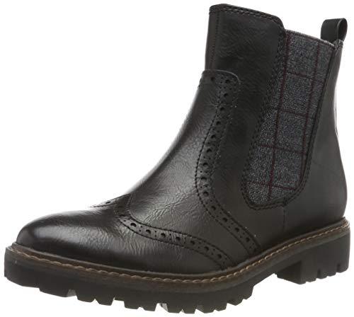 MARCO TOZZI Damen 2-2-25403-33 Chelsea Boots, Schwarz (Black Antic 002), 39 EU