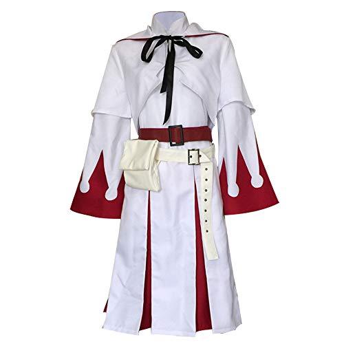 NIXU Disfraz de mago blanco de anime Final Fantasy - blanco - XL/XXL