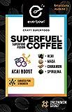 Everbowl Superfuel Coffee - Infused coffee kcups for Keurig brewers, infused with Maca, Cinnamon, Acai, and Spirulina