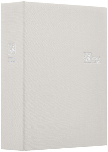 ナカバヤシ ファイル ポケットアルバム 160枚 L判 プレーンホワイト TCPK-L-160-PW