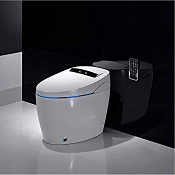 Comigeewa Elongated Smart Toilet with Advance Bidet