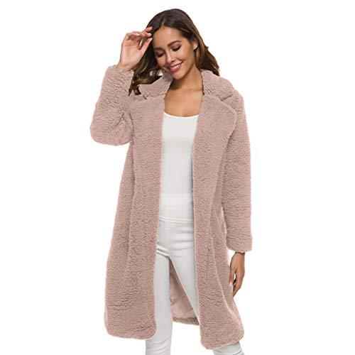 Auifor vrouwen trui met lange mouwen blouse vooraan open jas mantel lange bovenkleding