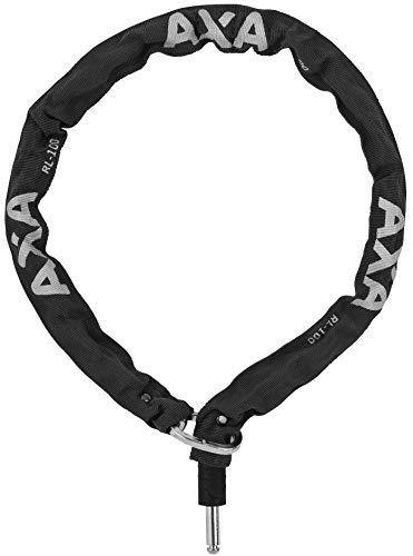 AXA - Cadena para antirrobo para Bicicleta Fusion, Defender, Victory o Solid Plus. Adulto Unisex, Negro, Longitud 100 cm