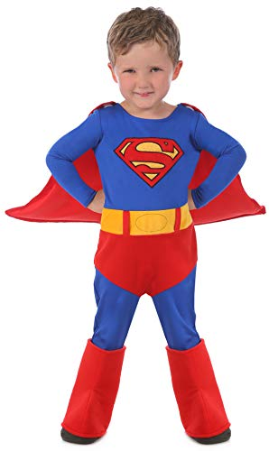 Princess Paradise Baby's Superman Cuddly Costume, Red, 18 to 24 Months