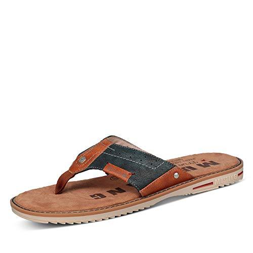 MUSTANG Shoes 4152-701-820 Tongs pour homme Bleu - Bleu - bleu marine, 50 EU