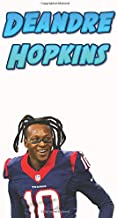 Deandre Hopkins: American NFL Football Notebook For Boys And Kids, Sports Theme Notebook (110 Pages, Blank, 6 x 9) (Football(NFL))