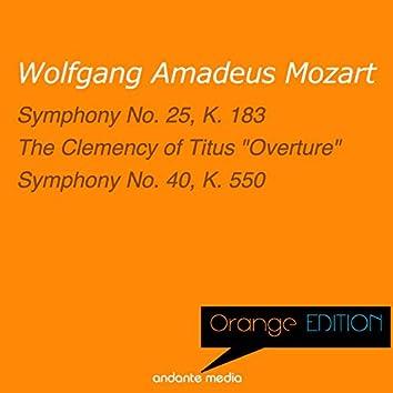Orange Edition - Mozart: Symphony No. 25, K. 183 & Symphony No. 40, K. 550