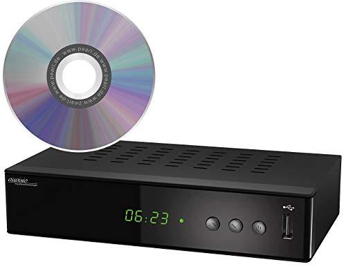 auvisio Zubehör zu DVB-C-Kabel-Receiver: Upgrade-CD für Aufnahmefunktion bei 3in1-Digital-Receiver DCR-200 (DBC-T-Receiver)