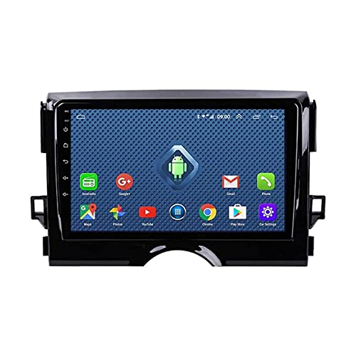 Coche GPS Pantalla táctil Navegación Radio Estéreo Reproductor multimedia Soporte Mirrorlink Wifi 4G Mapa Bluetooth Llamadas manos libres para Toyota Reiz 2010-2020,4 Core 4G + WiFi: 2 + 32GB