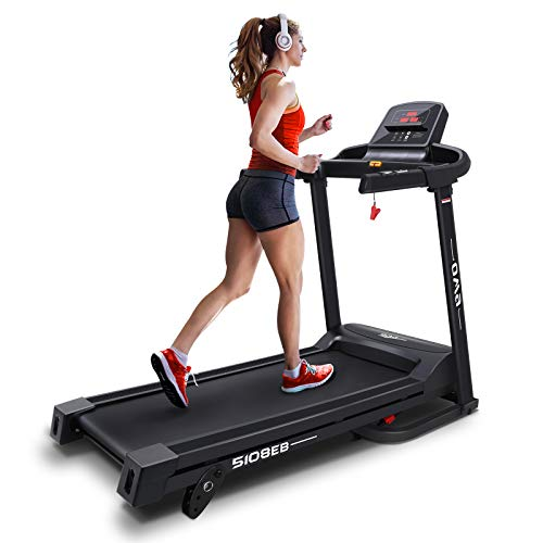 OMA Treadmills for Home 5108EB, Max 2.25 HP Folding Incline Treadmills for Running and Walking Jogging Exercise with 36 Preset Programs, Tracking Pulse, Calories - 2021 Updated Version by OMA