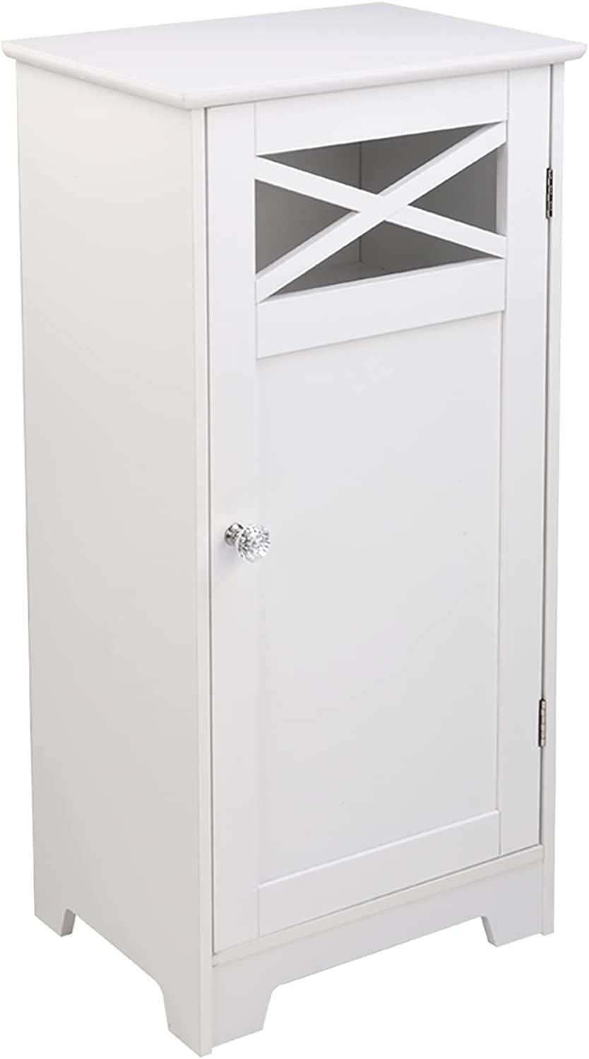 Savins gt1-zj Single A surprise New life price is realized Door White Fork Cabinet Bathroom