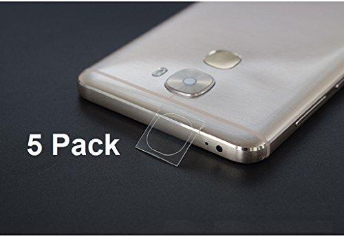 Youji® Paquete de 5 paquetes de alta definición ultra finas claro claro protector de la cámara de cristal templado para LeEco Le Pro 3 / Pro3 Lens Cover