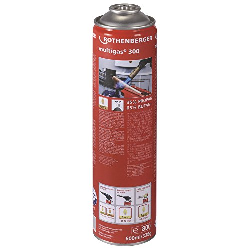 Rothenberger 035510-A Gaskartusche Multigas 300