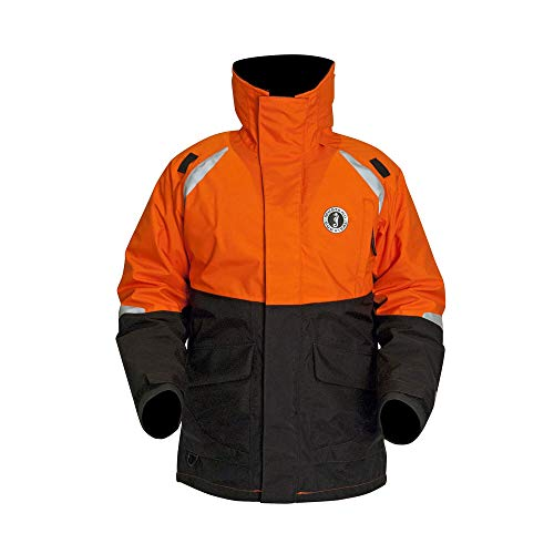 Find Bargain Mustang Survival - Catalyst Floatation Coat (Orange-Black - S) - Harmonized Approval (C...