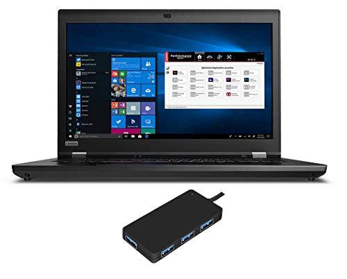 "Price comparison product image Lenovo ThinkPad P73 Laptop (Intel i7-9750H 6-Core,  128GB RAM,  1TB PCIe SSD + 2TB HDD,  NVIDIA Quadro P620,  17.3"" Full HD (1920x1080),  Fingerprint,  Bluetooth,  Webcam,  3xUSB 3.1,  1xHDMI,  Win 10 Pro)"