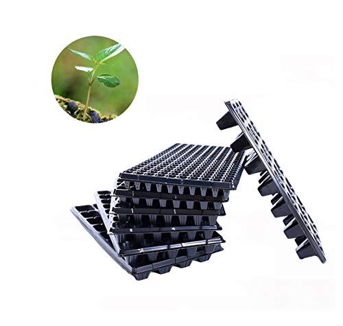 5Pcs / Pack Cellen Seedling Starter Tray Extra Kracht zaadgerminatie Plant Bloempotten Nursery Grow Box Voortplanting Voor Garden