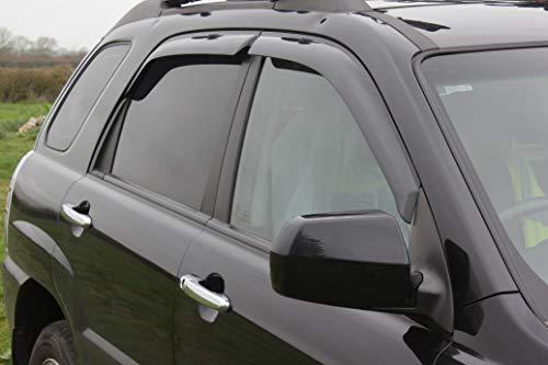 Autoclover Windabweiser-Set für Kia Sportage 2004-2009, 4-teilig