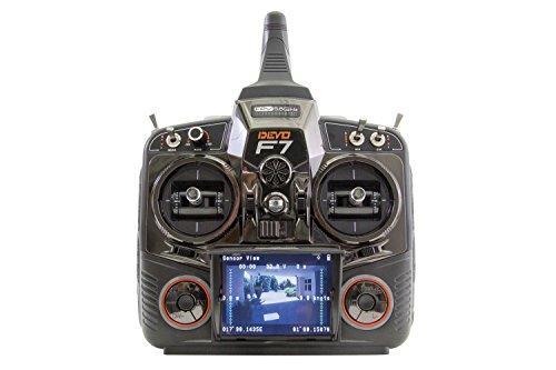 XciteRC 15003050 - Quadrocopter QR X350 Pro RTF - FPV-Drohne für GoPro Hero3 Kamera, 3D-Gimbal, GPS, Akku, Ladegerät und Devo F7 Fernsteuerung mit integriertem Farb-Monitor