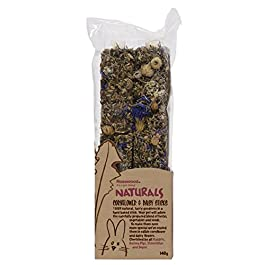 Rosewood Boredom Breaker Natural Treat Cornflower and Daisy Sticks