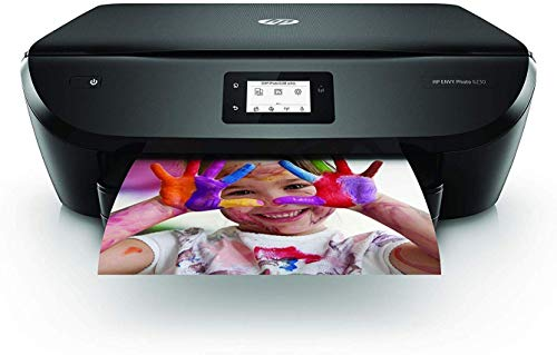 HP Envy Photo 6230 – Impresora multifunción inalámbrica (tinta, Wi-Fi, copiar, escanear, impresión a doble cara, 1200 x 1200 ppp) color negro