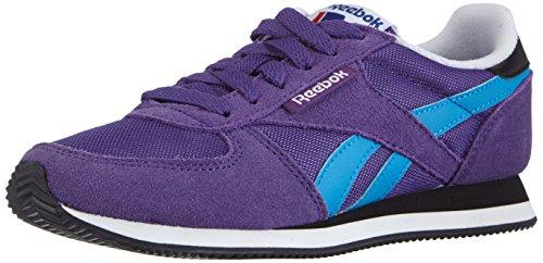 Reebok Royal Classic Jogger - Zapatillas para Mujer, Color Morado (Sport Violet/Energy Blue/Wht/blk/Coll Royal), Talla 37