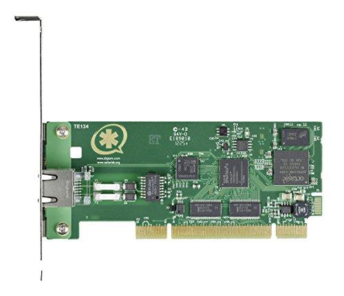 Digium TE131 Single Span Digital T1/E1/J1/PRI PCI Express Card