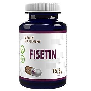 STARKES POLYPHENO- unterstützt die Gesundheit der Organe, die Gesundheit des Gehirns, die Stimmung, den Blutdruck und den Kreislauf Die in THE LANCET veröffentlichte Forschung fand heraus, dass Fisetin ein Flavonoid mit starker senolytischer Aktivitä...