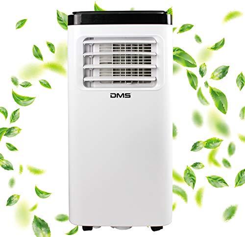 DMS 4 in 1 mobiles Klimagerät | Klimaanlage | Heizung | Ventilator | Luftentfeuchter | Räume bis 35 m2 | Fernbedienung | 24h Timer | Nachtmodus | 8000 BTU/h | 2000 Watt