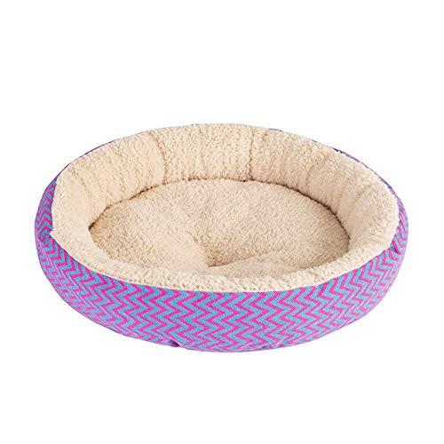 Arena para mascotas para gatos y perros, varias ma Cama de cojín de gato y perros redondo, cama para mascotas para gatos o perros pequeños, antideslizante y resistente al agua, suministros para mascot