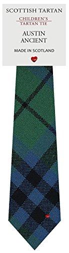 I Luv Ltd Garçon Tout Cravate en Laine Tissé et Fabriqué en Ecosse à Austin Ancient Tartan