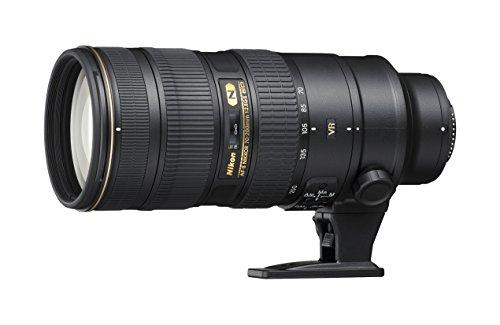 Nikon AF-S 70-200mm F/2.8 G ED VRII - Objetivo con montura para Nikon (distancia focal 70-200mm, apertura f/2.8, estabilizador de imagen)