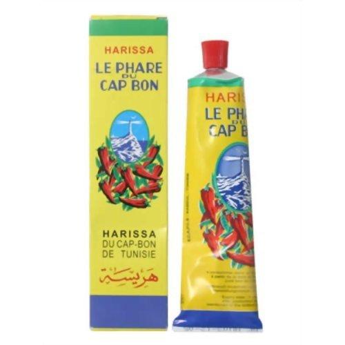 Harissa - PHARE DU CAP BON harissa 4 x 70g - Hot Sauce aus Chili
